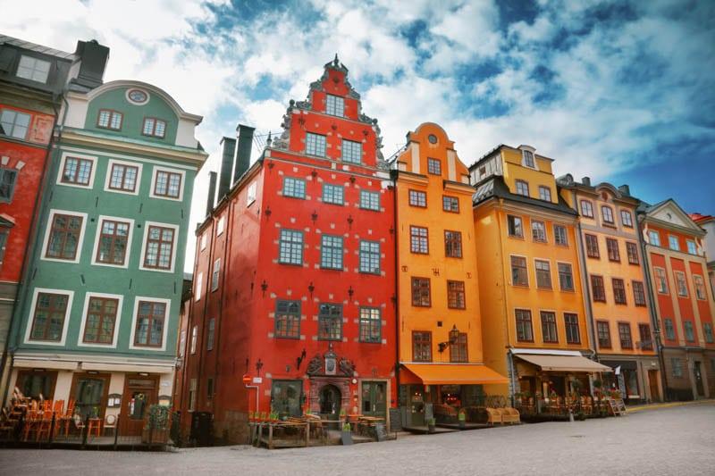 Stortorget in Gamla Stan Stockholm Sweden