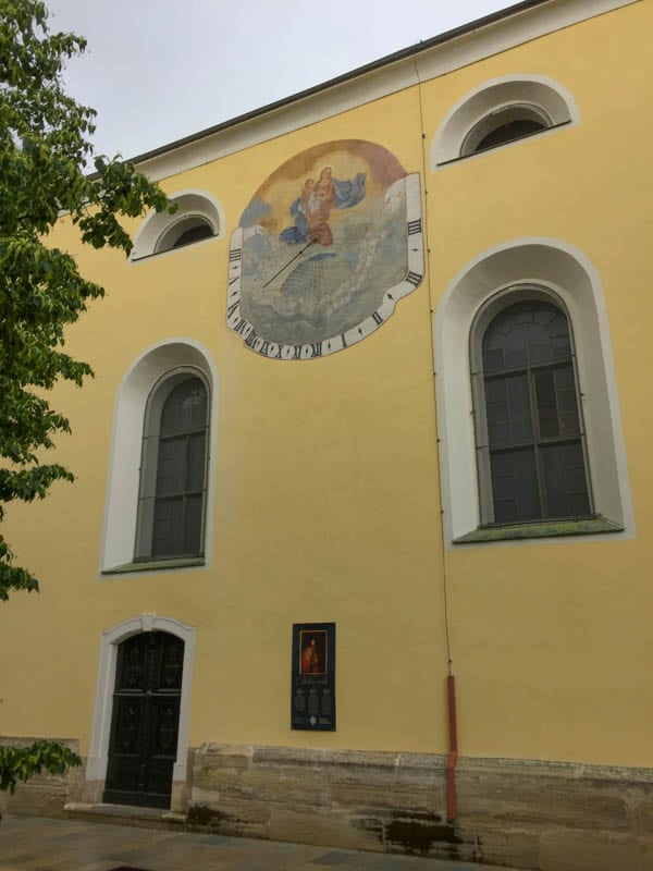 Franciscan Church in Varazdin Croatia