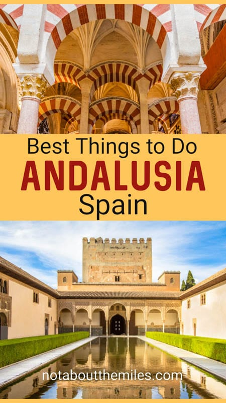 Discover the top things to do in Andalusia, Spain's southern province: the Alhambra, Alcazar of Seville, and more!