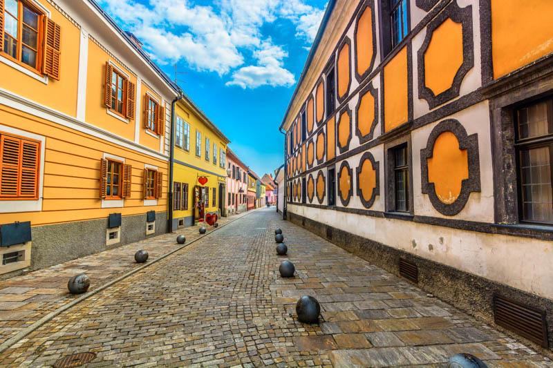 Visiting Varazdin Croatia