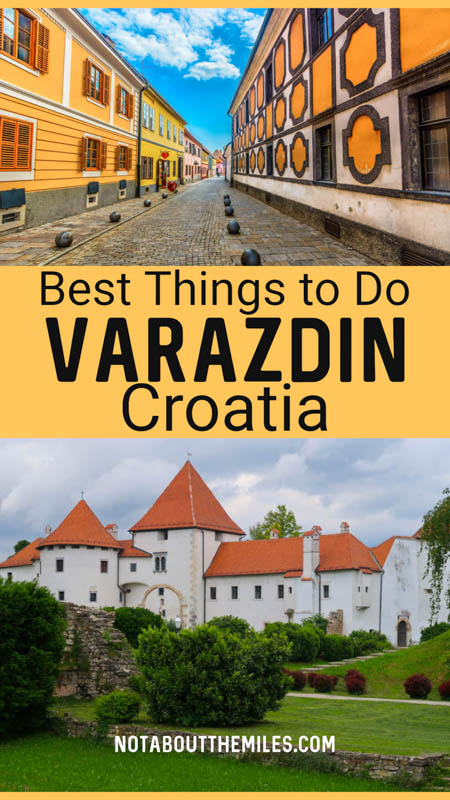Discover the best things to do in one day in the Baroque town of Varazdin in northeastern Croatia!
