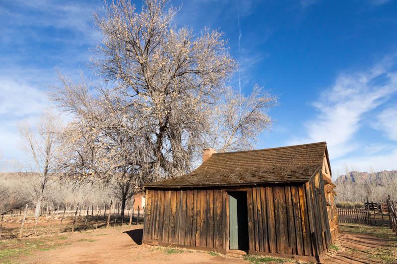Abandoned shed in Grafton, Utah