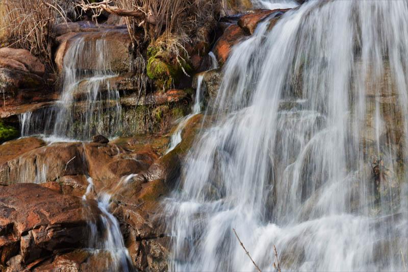 Faux Falls near Moab Utah
