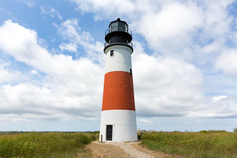 Sankaty Lighthouse in Nantucket, Massachusetts