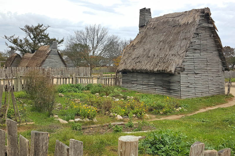 Plimoth Plantation in Plymouth Massachusetts