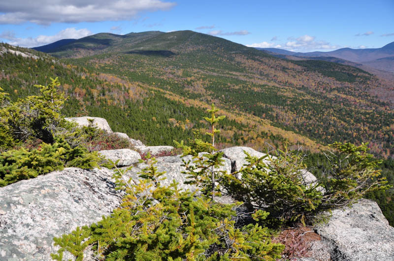 View from a trail in Waterville Valley, New Hampshire
