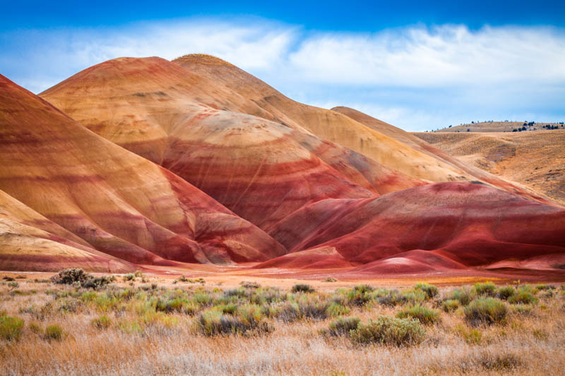 Painted Hills in Oregon is one of the most beautiful places to visit in the PNW.