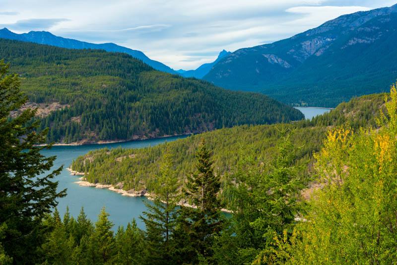 Ross Lake in North Cascades NP Washington