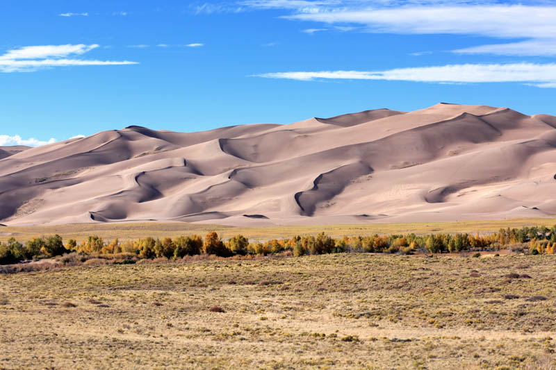 Great Sand Dunes NP in Colorado