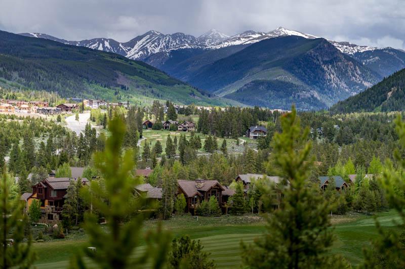 A view of Keystone, Colorado