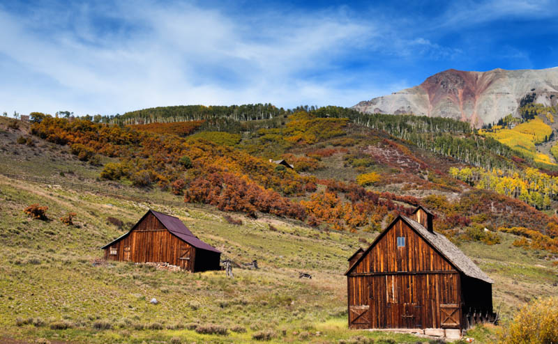 Picturesque Cabins near Telluride Colorado