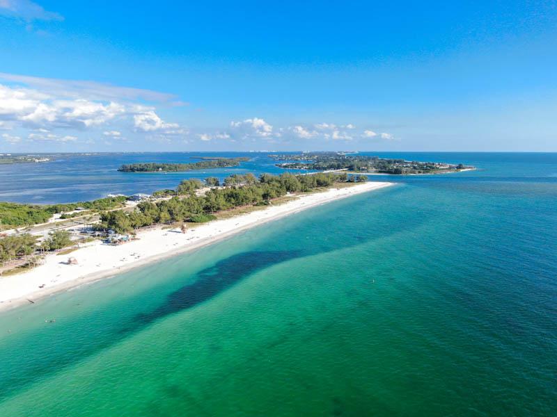 Beach at Anna Maria Island, Florida