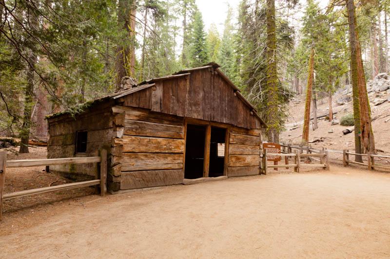 Gamlin Cabin in Grant Grove, Kings Canyon National Park, California