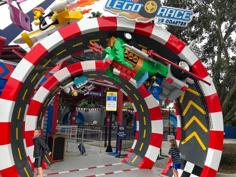 Ride at Legoland Florida
