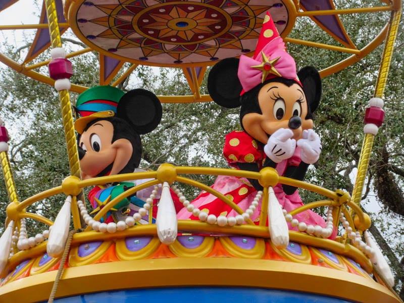 Magic Kingdom Parade, Walt Disney World, Florida