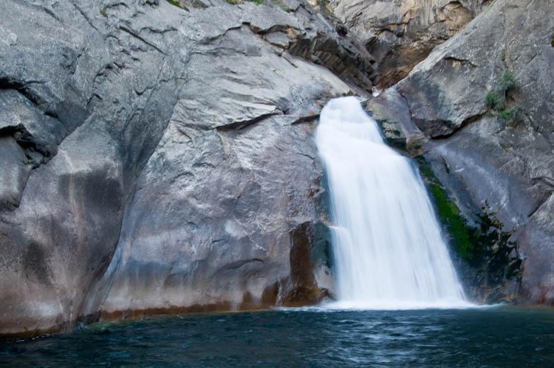 Roaring River Falls in Kings Canyon National Park, California