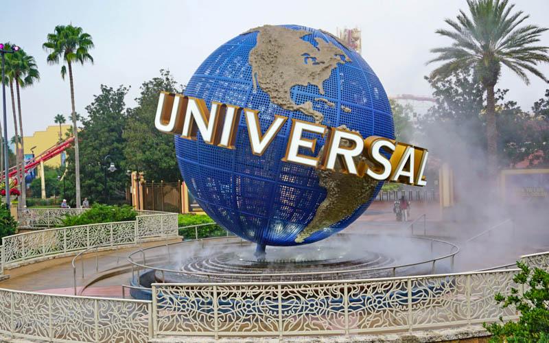 Sign at Universal Orlando, Florida
